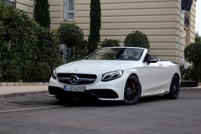 2017 Mercedes-Benz S-Class Cabriolet - First Drive, April 2016