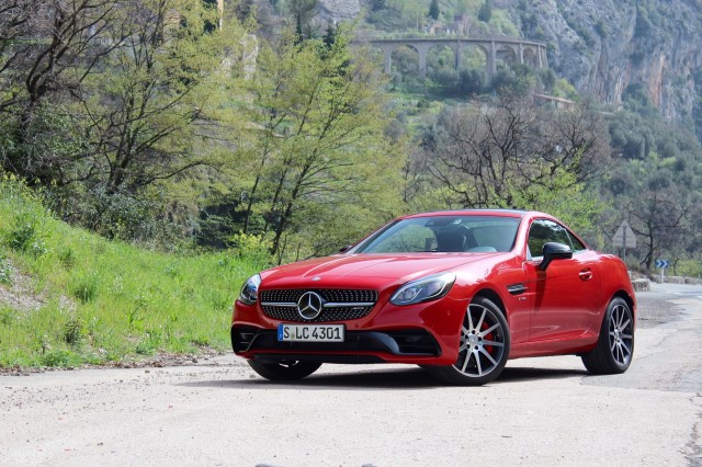 2017 Mercedes-Benz SLC - First Drive - April 2016
