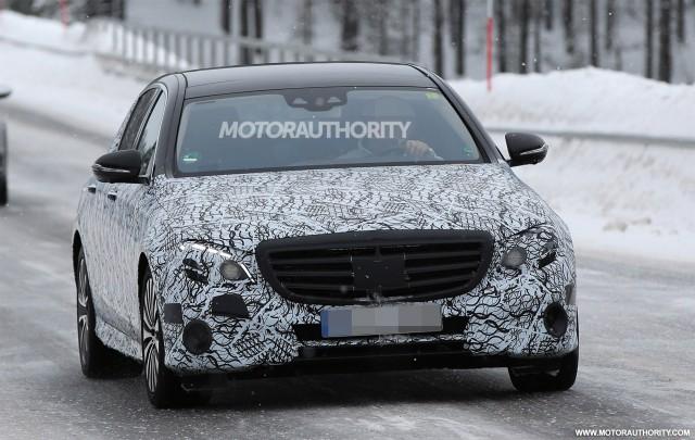 2017 Mercedes Maybach E-Class spy shots - Image via S. Baldauf/SB-Medien