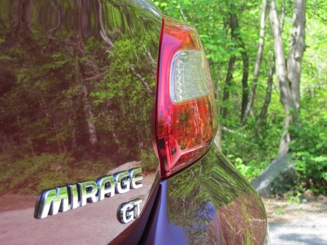 2017 Mitsubishi Mirage, Bear Mountain State Park, NY, May 2016