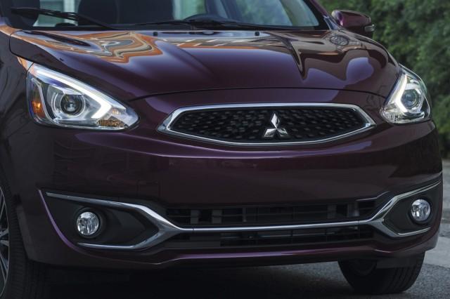 2017 Mitsubishi Mirage Styling Trim Suspension Updates At La Auto