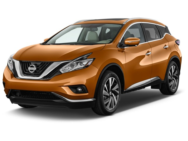 2017 Nissan Murano FWD Platinum Angular Front Exterior View
