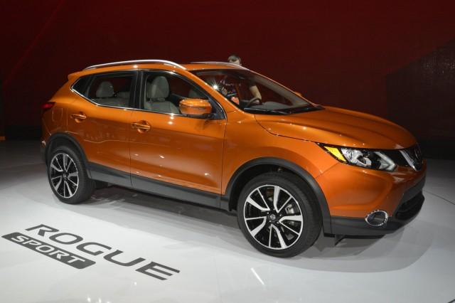 2017 Nissan Rogue Sport, 2017 Detroit auto show