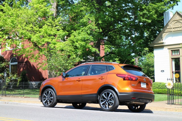 2017 Nissan Rogue Sport, first drive, Nashville region, April 2017