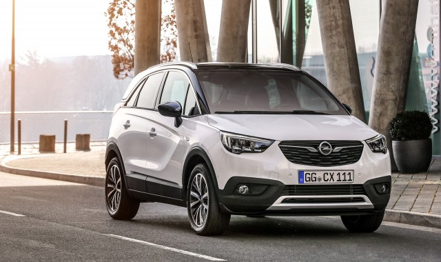 opel gives glimpse at new design direction potential electric suv. Black Bedroom Furniture Sets. Home Design Ideas