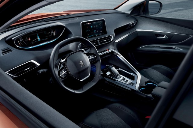 2017 peugeot 3008 revealed ahead of 2016 paris auto show for Interieur nouveau 3008