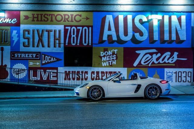2017 Porsche 718 Boxster S, white