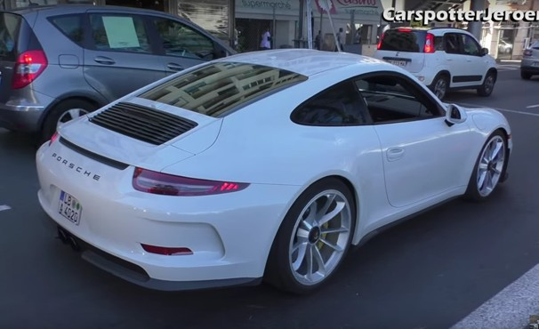 2016 porsche 911 r hits the streets of monaco. Black Bedroom Furniture Sets. Home Design Ideas