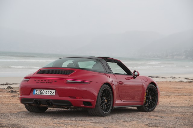 2017 Porsche 911 GTS Targa 4