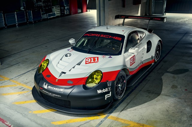 Porsche Finally Adopts Mid Engine Layout With Rsr