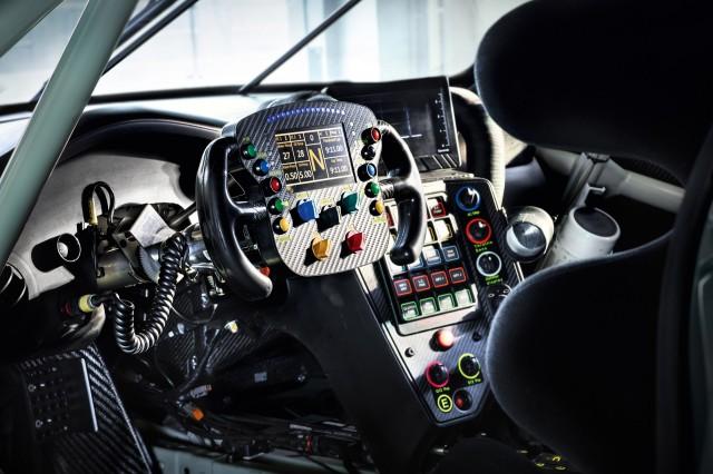 2017 Porsche 911 RSR race car