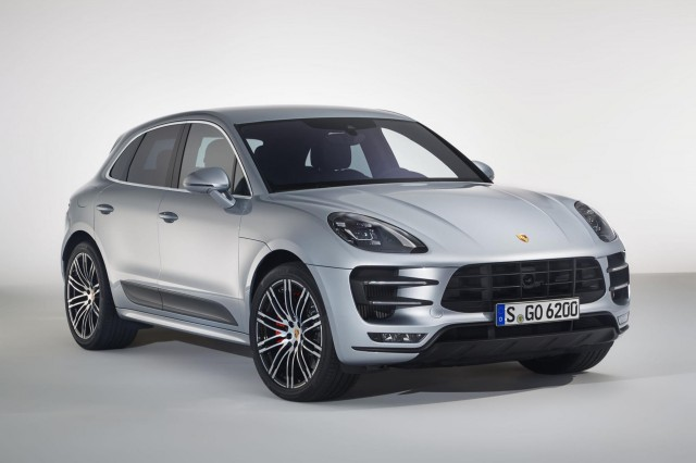 2017 Porsche Macan Turbo equipped with Performance Package