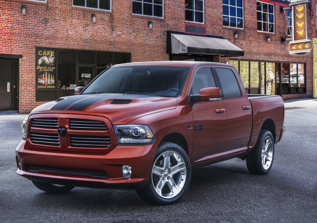 two special edition ram pickup trucks roll into the windy city. Black Bedroom Furniture Sets. Home Design Ideas