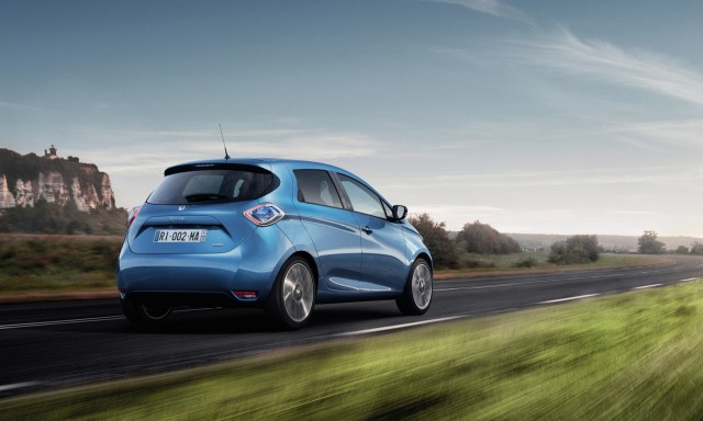 Renault Zoe Electric Car Larger Battery Doubles Range