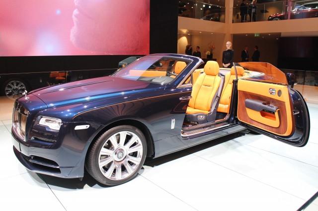 2017 Rolls-Royce Dawn, 2015 Frankfurt Auto Show