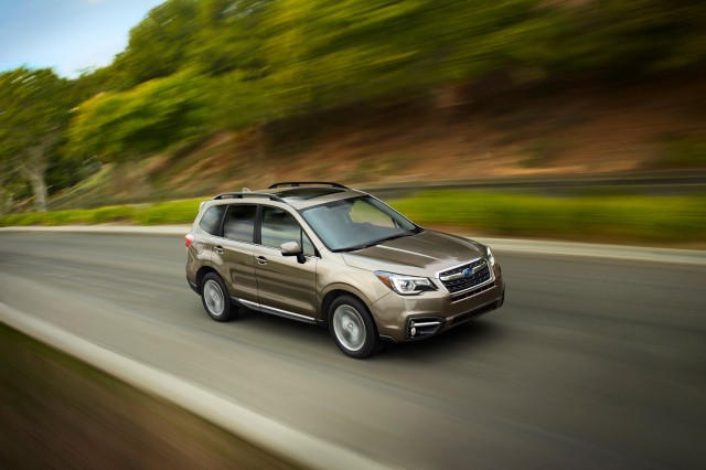 2017 Subaru Forester Gas Mileage Inches Up