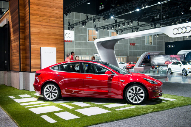 Tesla, Inc. (TSLA) Stock Price Increases Today