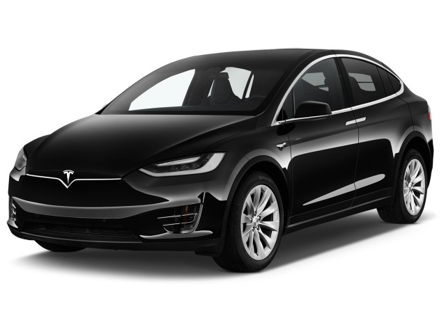 2017 Tesla Model X 75D AWD Angular Front Exterior View