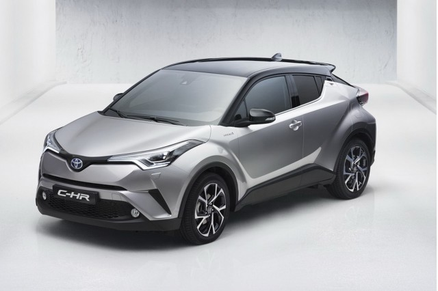 2017 Toyota C-HR leaked