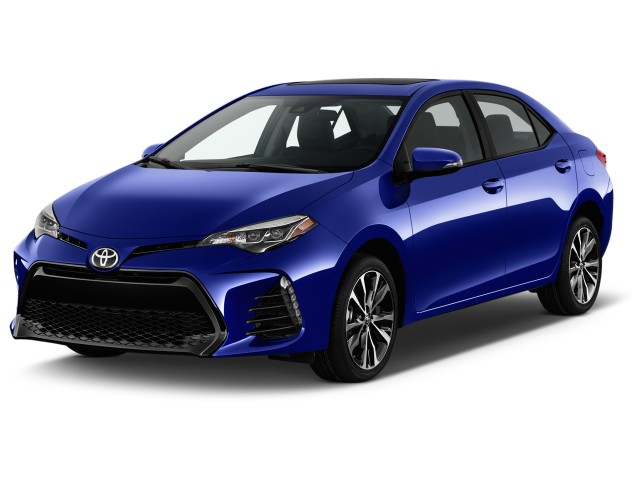 2017 Toyota Corolla Xse Cvt Automatic Natl Angular Front Exterior View