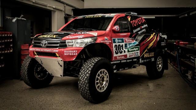 2017 Toyota Hilux Evo Dakar Rally Truck