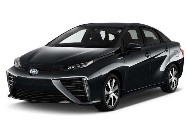 2017 Toyota Mirai Sedan Angular Front Exterior View