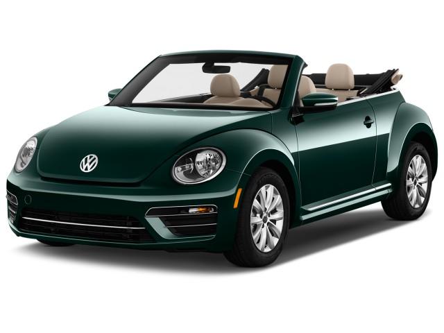2017 Volkswagen Beetle Convertible 1.8T S Auto Angular Front Exterior View