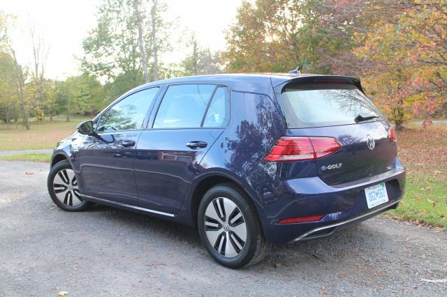 2017 Volkswagen e-Golf, Catskill Mountains, NY, Oct 2017