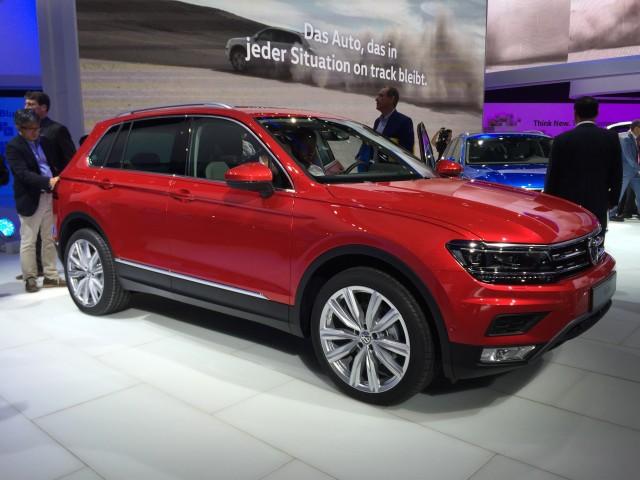 2017 Volkswagen Tiguan, 2015 Frankfurt Auto Show