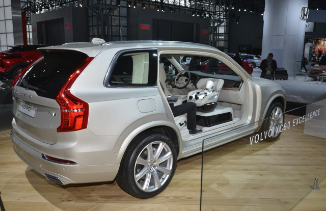 2017 Volvo Xc90 Excellence 2016 New York Auto Show