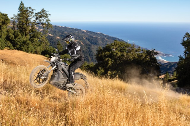 2017 Zero DSR electric motorcycle