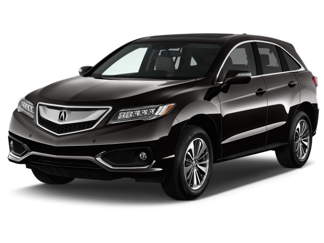 2018 Acura RDX FWD w/Advance Pkg Angular Front Exterior View