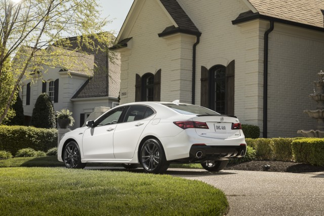 2018 acura tlx a spec first drive review character by committee. Black Bedroom Furniture Sets. Home Design Ideas