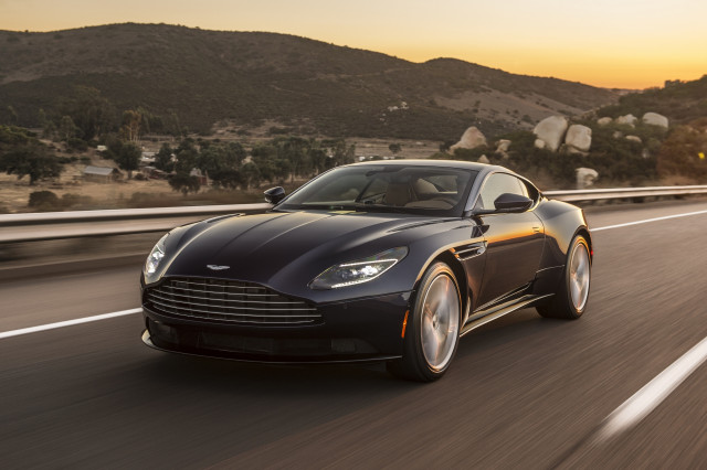 2018 aston martin db11 v8 first drive review with a. Black Bedroom Furniture Sets. Home Design Ideas