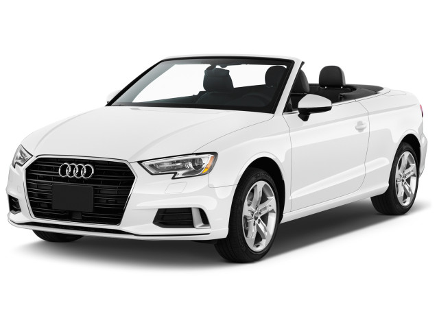 2018 Audi A3 Cabriolet 2.0 TFSI Premium FWD Angular Front Exterior View