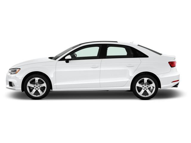 2018 Audi A3 Sedan 2.0 TFSI Premium FWD Side Exterior View