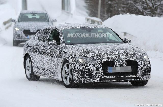 2018 Audi A5 Sportback spy shots - Image via S. Baldauf/SB-Medien