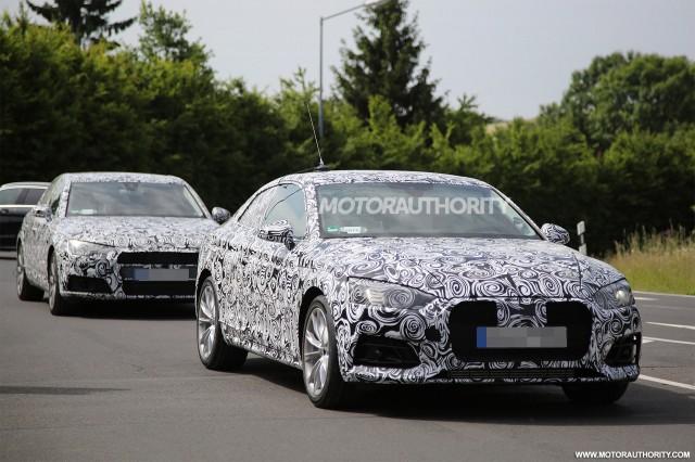 2018 Audi A5 spy shots - Image via S. Baldauf/SB-Medien