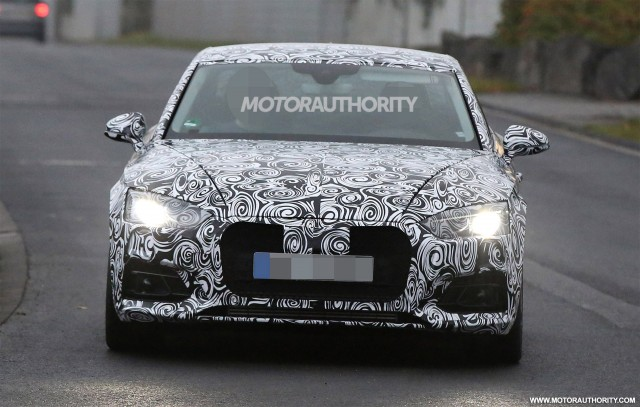 2018 Audi A5 spy shots and video, Gallery 1 - MotorAuthority