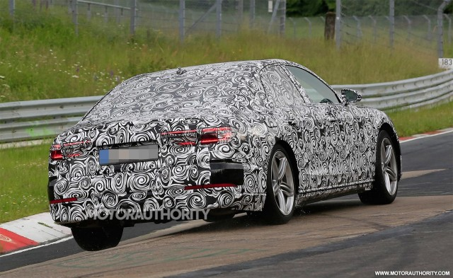 2018 audi electric car. delighful electric 2019 audi a8 spy shots  image via s baldaufsbmedien to 2018 audi electric car