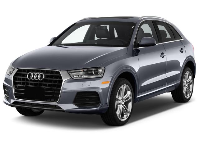 2018 Audi Q3 2.0 TFSI Premium Plus FWD Angular Front Exterior View