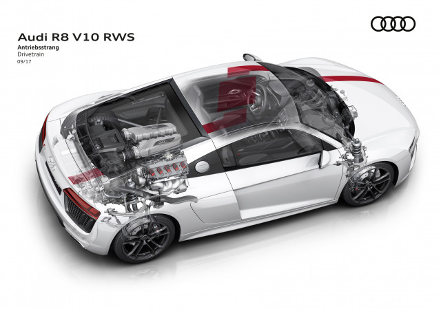 Audi R8 V10 Rws Goes Rear Drive For Driving Purists