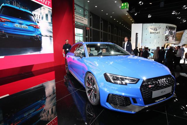 2018 Audi RS 4 Avant, 2017 Frankfurt Motor Show