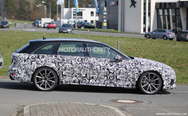 2018 audi wagon. Perfect Wagon 2018 Audi RS 4 Avant Spy Shots  Image Via S BaldaufSB Inside Audi Wagon N