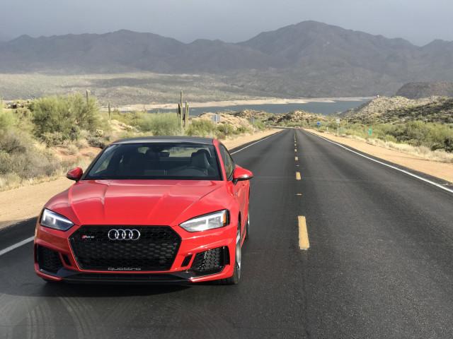 2018 Audi RS 5, U.S. media drive, February, 2018