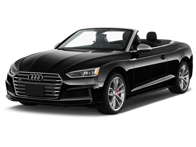 2018 Audi S5 Cabriolet 3.0 TFSI Premium Plus Angular Front Exterior View