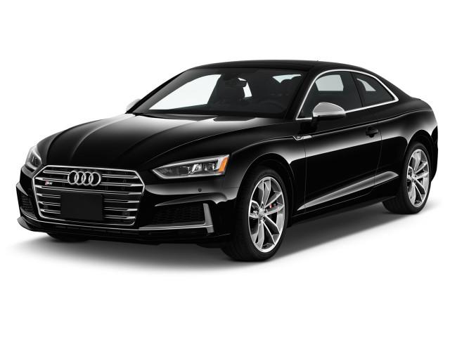2018 Audi S5 Coupe 3.0 TFSI Premium Plus Angular Front Exterior View