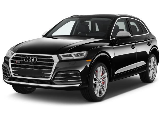 2018 Audi SQ5 3.0 TFSI Premium Plus Angular Front Exterior View