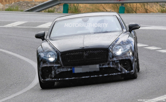 2018 Bentley Continental GT spy shots - Image via S. Baldauf/SB-Medien