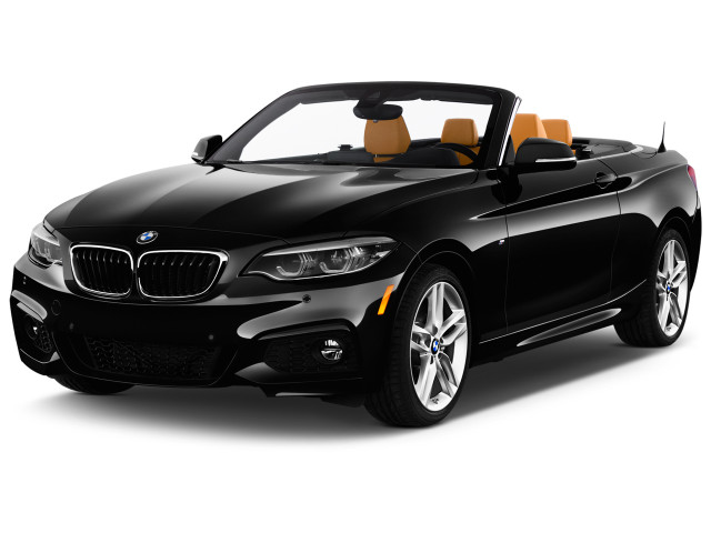 2018 BMW 2-Series 230i Convertible Angular Front Exterior View